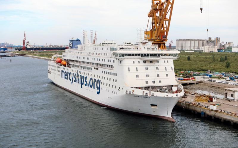 De Global Mercy is het nieuwste schip van Mercy Ships en komt in 2021 in de vaart.   Foto: copyright Mercy Ships