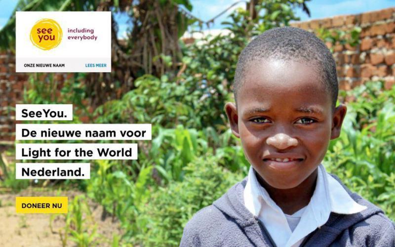 See You is de nieuwe naam van Light for the World Nederland.