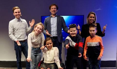 De nieuwe kinderambassadeurs   Foto: Femke Reijerman